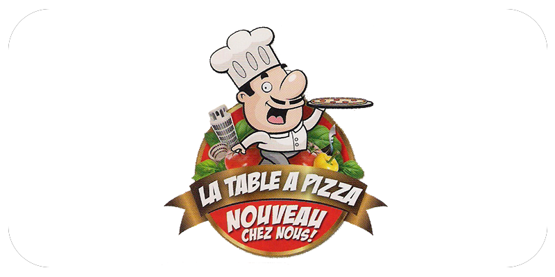 Table � Pizza